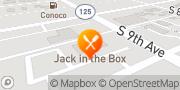 Map Jack in the Box Walla Walla, United States