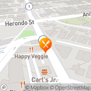Map Carl's Jr Redondo Beach, United States
