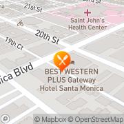 Map IHOP Santa Monica, United States