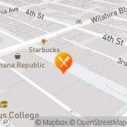 Map Sephora Santa Monica, United States