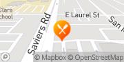 Map Pizza Hut Oxnard, United States
