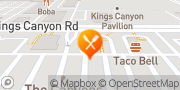 Map Jack in the Box Fresno, United States
