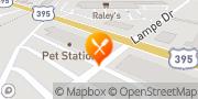 Map Pizza Hut Gardnerville, United States