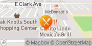Map Pizza Hut Santa Maria, United States