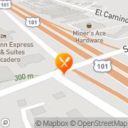 Map Jack in the Box Atascadero, United States
