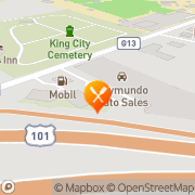 Map Denny's Restaurant King City, United States