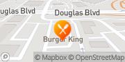Map Burger King Roseville, United States