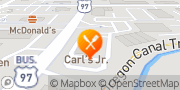 Map Carl's Jr. Bend, United States