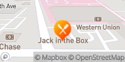 Map Jack in the Box Sacramento, United States