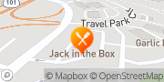 Map Jack in the Box Gilroy, United States
