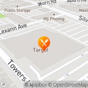 Map Pizza Hut Express San Jose, United States