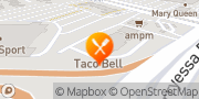 Map Taco Bell San Jose, United States
