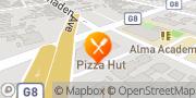 Map Pizza Hut San Jose, United States