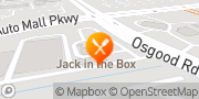 Map Jack in the Box Fremont, United States