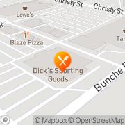 Map Pizza Hut Express Fremont, United States