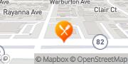 Map Jack in the Box Santa Clara, United States