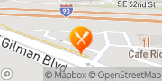 Map Jack in the Box Issaquah, United States