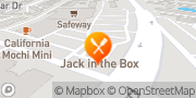 Map Jack in the Box Mountain View, United States