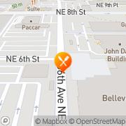 Map California Pizza Kitchen Bellevue, United States