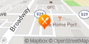 Map Jack in the Box Everett, United States
