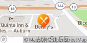 Map Denny's Auburn, United States