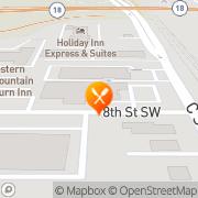 Map Best Western Plus Peppertree Auburn Inn Auburn, United States