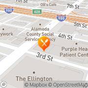 Map La Furia Chalaca Oakland, United States