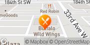 Map Buffalo Wild Wings Lynnwood, United States