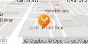 Map Jack in the Box Lynnwood, United States