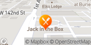 Map Jack in the Box Burien, United States