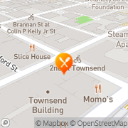 Map Paragon Restaurant San Francisco, United States
