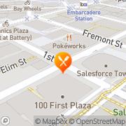 Map Portico Restaurant San Francisco, United States