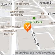 Map Henrys Hunan Restaurant San Francisco, United States