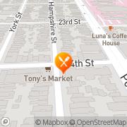 Map Dagwood & Scoops San Francisco, United States