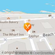 Map Fisherman's Wharf Deli & Taqueria San Francisco, United States