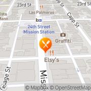 Map Frida's Pizza San Francisco, United States