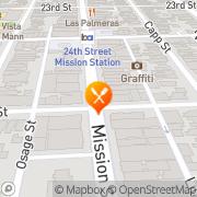 Map Restaurante Y Pupuseria San Francisco, United States