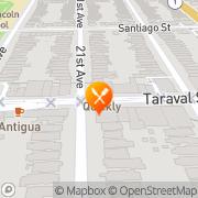 Map New Taraval Cafe San Francisco, United States