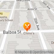 Map Chino's Taqueria San Francisco, United States