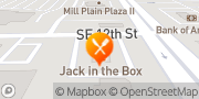 Map Jack in the Box Vancouver, United States