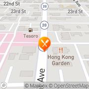 Map Hong Kong Restaurant Anacortes, United States