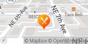 Map Burger King Portland, United States