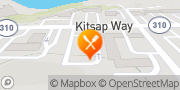 Map Jack in the Box Bremerton, United States