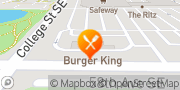 Map Burger King Lacey, United States