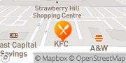 Map KFC Surrey, Canada