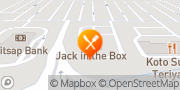 Map Jack in the Box Sequim, United States
