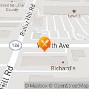 Map Carl's Jr Eugene, United States