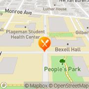Map Carl's Jr Corvallis, United States