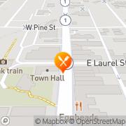 Map The Laurel Deli & Desserts Fort Bragg, United States