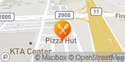 Map Pizza Hut Hilo, United States